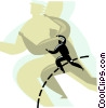Vector Clip Art image  of a business metaphors