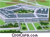 Vector Clipart illustration  of a The Pentagon