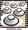 Vector Clip Art graphic  of a Science Fiction Movie