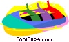 Bob sledding Vector Clipart graphic