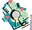 Golf Vector Clipart picture