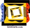 Vector Clip Art image  of a Frames