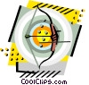 Archery Vector Clipart graphic
