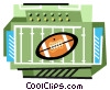 Vector Clipart image  of a Football