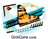 Ski equipment Vector Clipart picture
