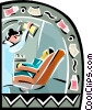 Vector Clipart picture  of a Dentist office