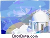 Vector Clipart picture  of a Greek temple