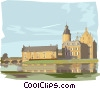 Vector Clip Art image  of a Europe