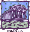 Parthenon, Athens, Greece Vector Clip Art picture