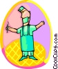 doctor, Surgeon Vector Clipart illustration