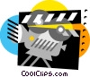 Film Vector Clipart graphic