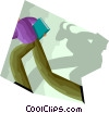 shadow of doubt Vector Clipart picture