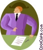 Business agreement Vector Clipart image