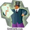 Forecaster Vector Clip Art graphic