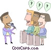 Game show Vector Clipart picture