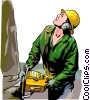 Logger Vector Clipart illustration