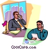 Vector Clipart illustration  of a Communication