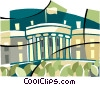 Whitehouse symbol Vector Clip Art picture