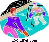 Hockey Vector Clip Art graphic
