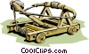 Historical, catapult Vector Clip Art graphic