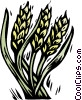 Vector Clipart graphic  of a grain