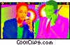 business telecommunications Vector Clipart picture