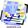 Vector Clipart graphic  of a healthcare