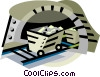 coal mining Vector Clipart picture