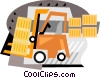 forklift Vector Clip Art picture