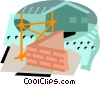 Vector Clip Art picture  of a construction