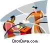 Vector Clip Art image  of a Elections