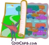 Vector Clip Art graphic  of a urban planning