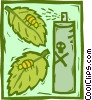 Vector Clip Art graphic  of a toxicology