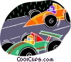 Vector Clip Art graphic  of a chalk style