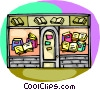 Vector Clipart graphic  of a Book store