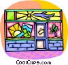 Vector Clip Art image  of a Travel agency