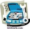 Auto maintenance Vector Clip Art picture