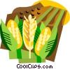 Vector Clip Art image  of a grain