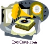 phonograph Vector Clipart picture