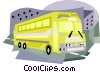 bus Vector Clipart graphic
