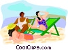 travel and vacations Vector Clipart picture