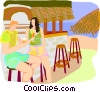 travel and vacations Vector Clipart graphic