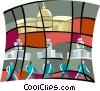 Government bureaucracy Vector Clip Art image