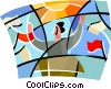Elections, political candidates Vector Clip Art picture
