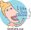 Vector Clipart illustration  of a entertainment