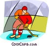 Olympic sports, hockey Vector Clip Art graphic