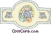 Vector Clip Art picture  of a retailing
