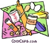 Vector Clipart image  of a baking