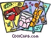 Vector Clip Art image  of a refreshments