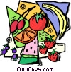 fruits Vector Clip Art image